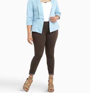 Torrid | Brown stretch jeans